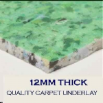 Ezifloor SoftStep Carpet Underlay 12mm - 15 square metre rolls